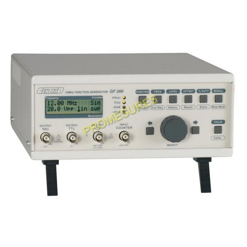 ELC DDS GF266 Générateur de fonctions à synthèse numérique directe