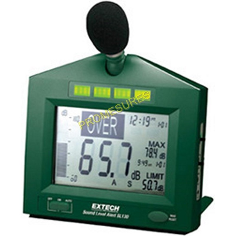 Extech SL 130G Sonomètre décibelmètre numérique