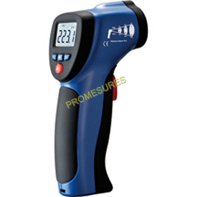 TURBOTRONIC TT8862B Thermomètre infrarouge double visée