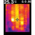Thermomètre IR visuel (mini caméra thermique)