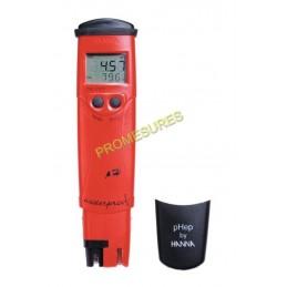 HANNA HI98128 PH-mètre de poche pH/°C étanche