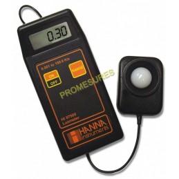 Luxmètre portatif simple, robuste et rapide Hanna HI 97500