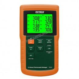Extech TM 500 Enregistreur de données thermocouple 12 voies