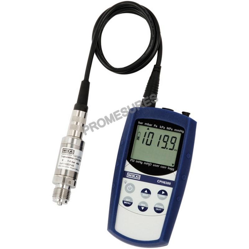 CPH6300 WIKA Calibrateur de pression portable