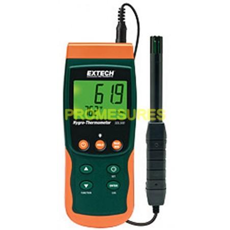 Extech SDL 500 Thermo-hygrometre avec carte SD