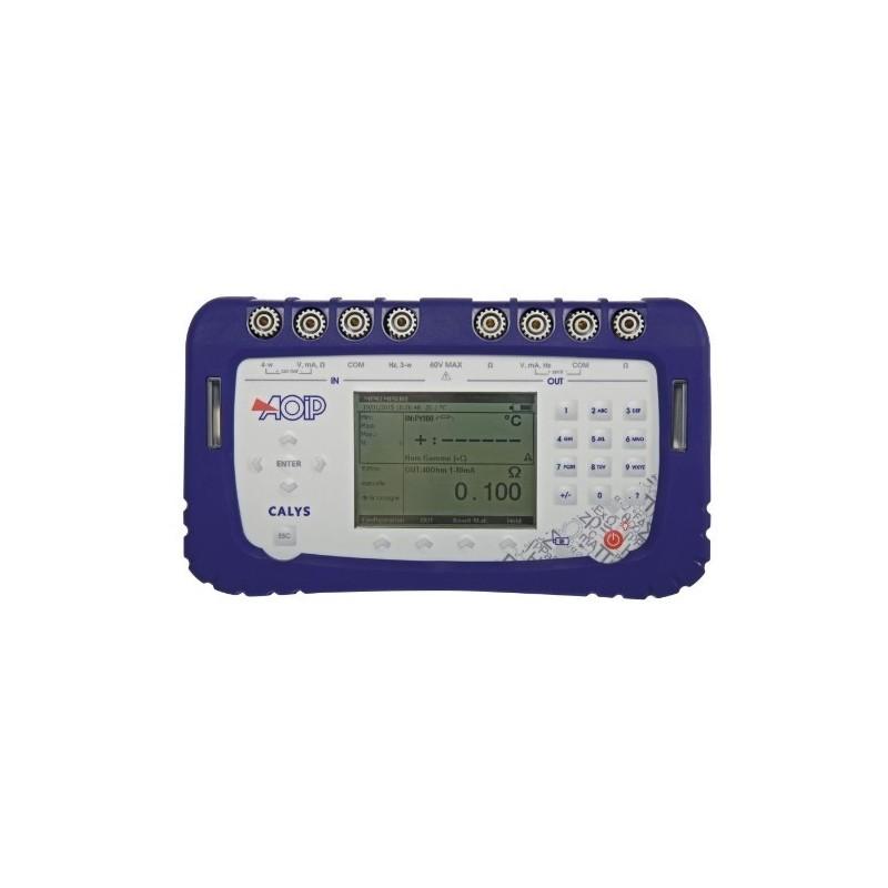 Calibrateur générateur multifonction AOIP Calys 100