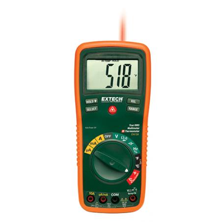 Multimètre numérique professionnel TRMS Extech EX470A