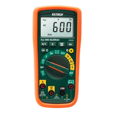 Multimètre numérique TRMS Extech EX350