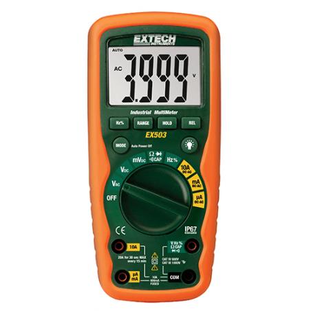 Multimètre numérique industriel TRMS Extech EX503