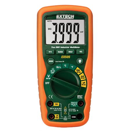 Multimètre numérique industriel TRMS Extech EX505