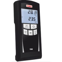 Thermomètre Kimo TRB 2 voies