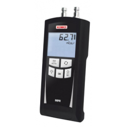 Manomètre Kimo MPR réseau gaz